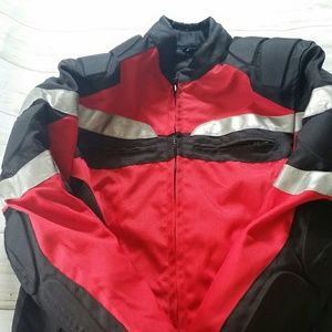Other - Red Motorcycle jacket size 38
